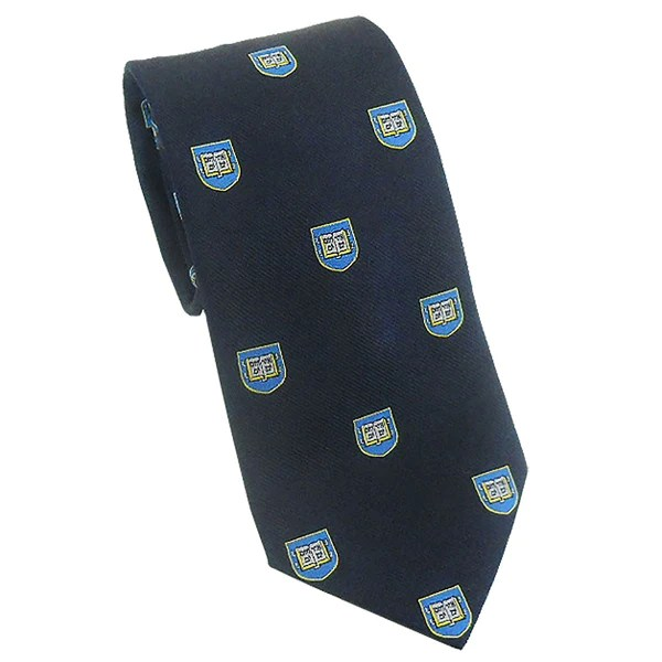 Yale Shield Tie Silk Ivysport