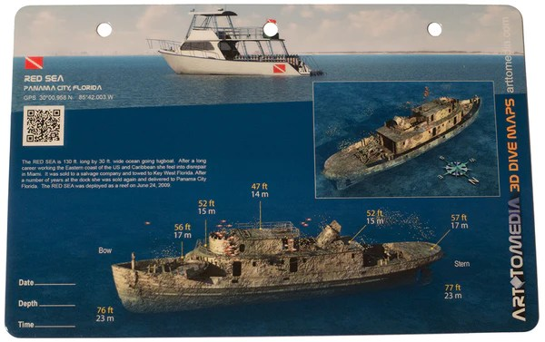 scuba gear diagram marine engine cooling system red sea, panama city, florida - shipwreck diving map – action prone