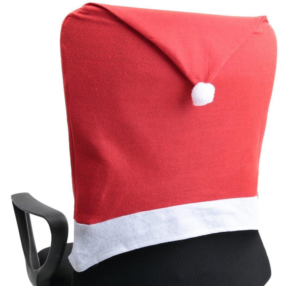 grey christmas chair covers french country accent santa claus theone apparel