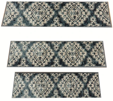 Nashua Rugs And Stair Runners Rug Depot Home Nh | 36 Inch Carpet Stair Treads | Attachable Indoor | Walmart | Basement Stairs | Vanilla Cream | Pet Friendly