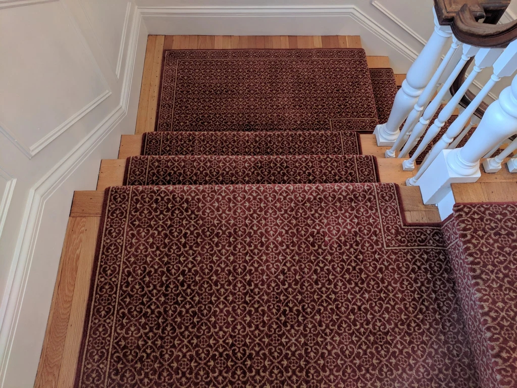 Chateau Riems Rm21 Ruby Stair Runners 27In Sold By The Foot   Mink Carpet On Stairs   Design   Step   Grey   Open Plan   Taupe Painted