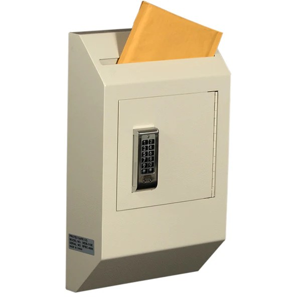 Protex WDB110E Letter Size Wall Drop Box with Electronic