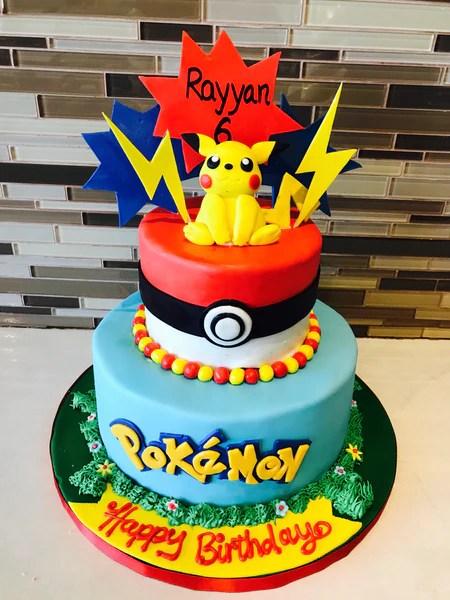 Pokemon Fondant Cake Rashmi S Bakery