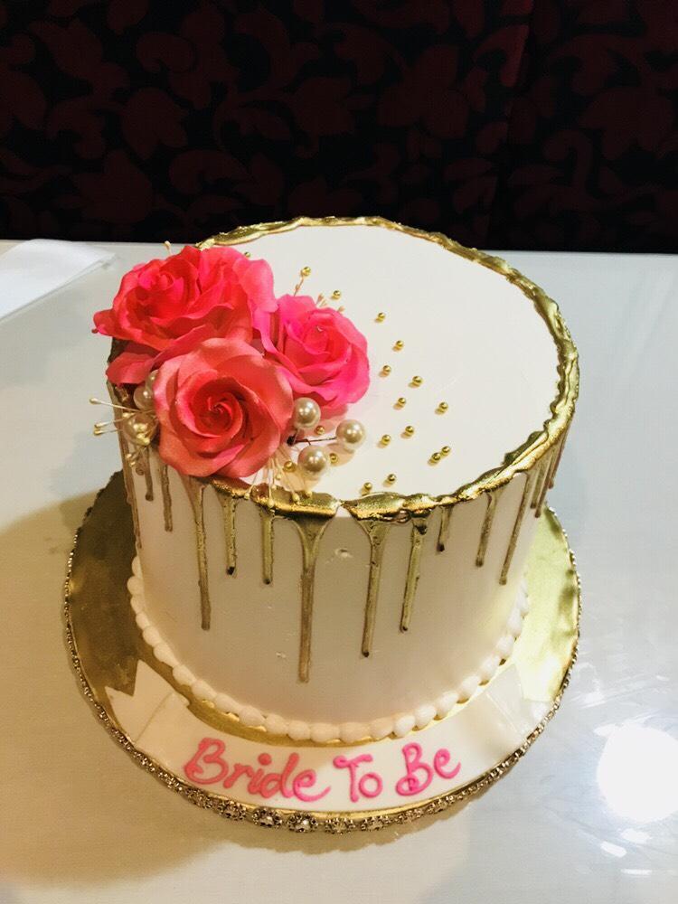 Atika Bridal Shower Cake Rashmis Bakery