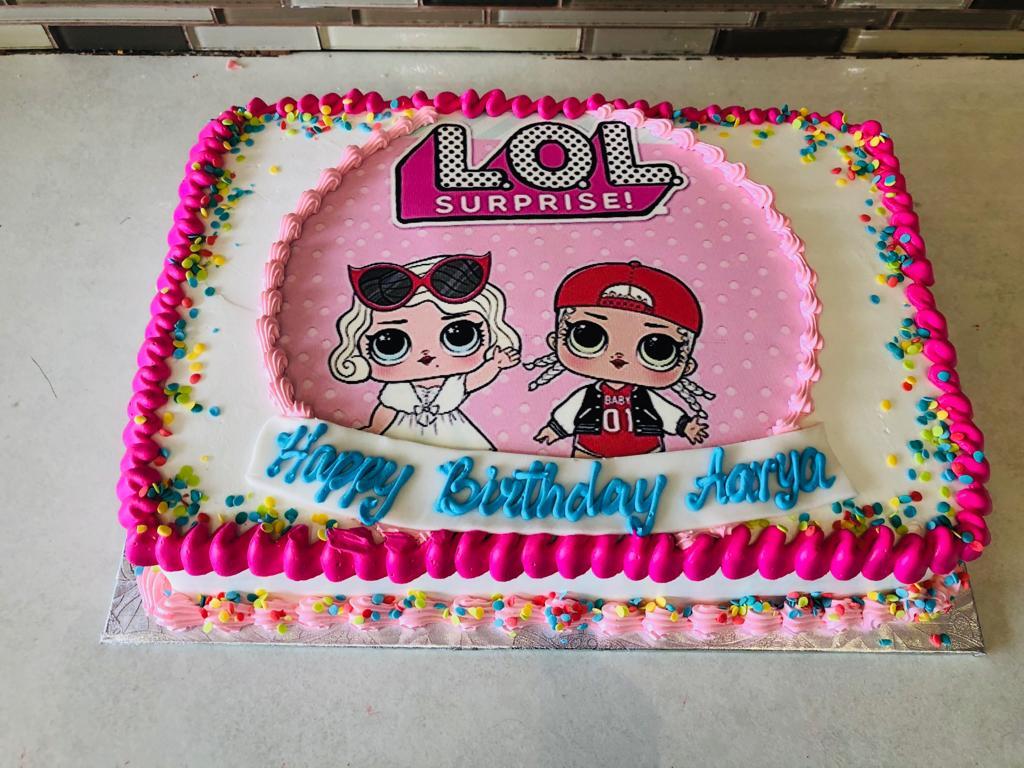 Lol Suprise Birthday Cake Rashmis Bakery