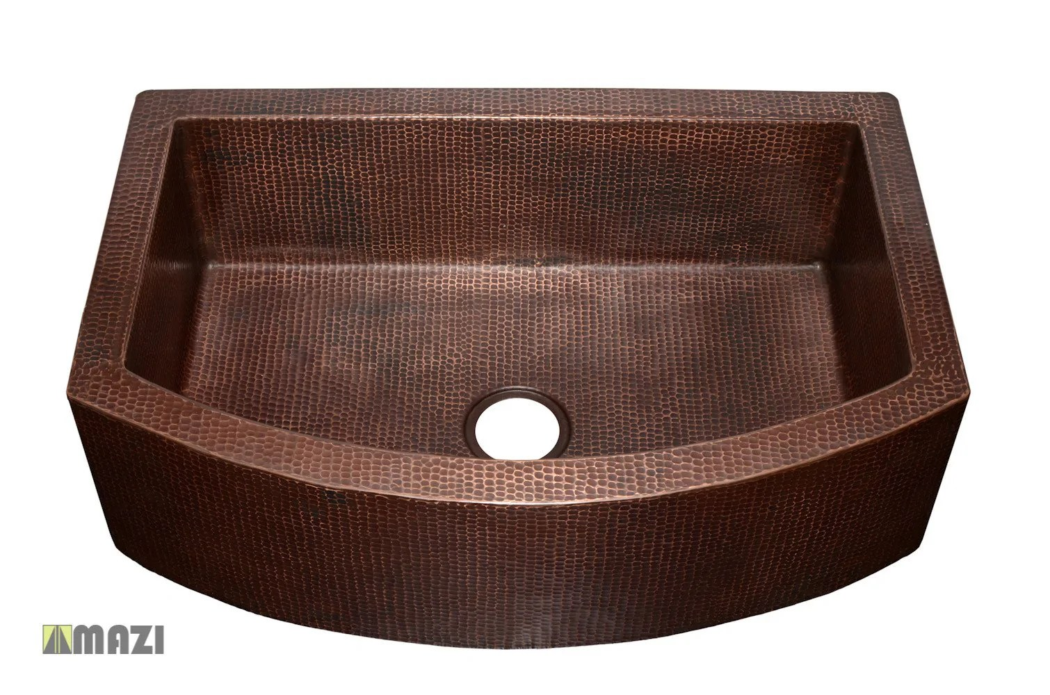 copper kitchen sinks wood top for island sink craks3322 mazi inc tap to expand