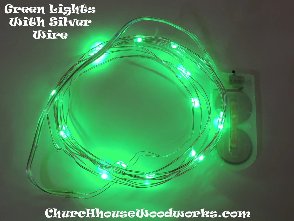 Lights String Mini Operated Battery
