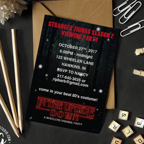Stranger Things Mugs And Cards – DesignGenes Studio