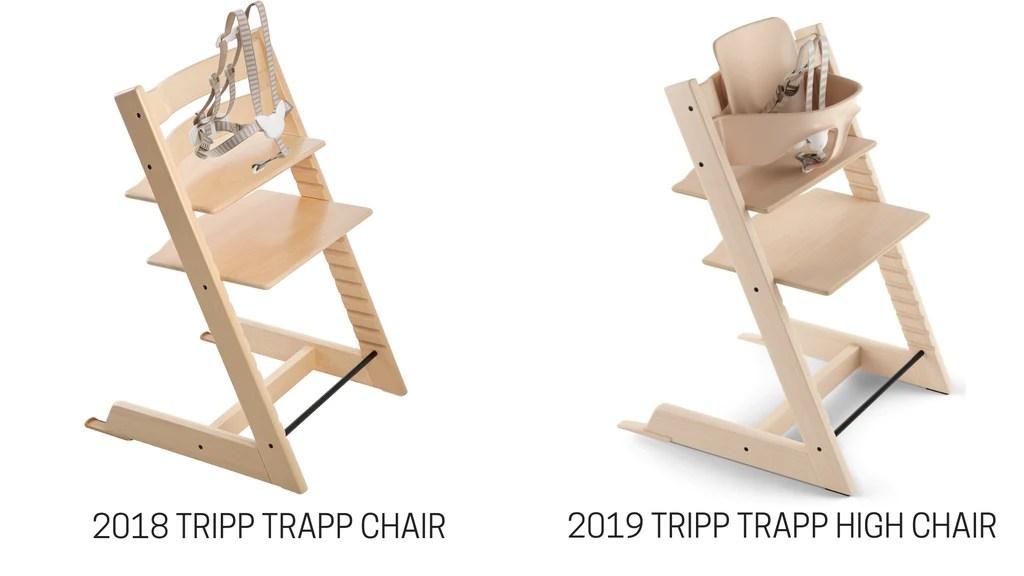 stokke chair harness alite monarch warranty 2019 tripp trapp vs 2018 comparison