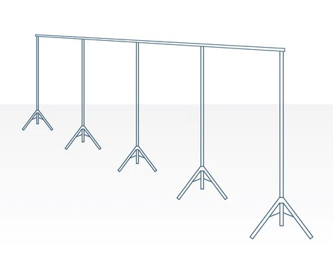 freestanding room divider stands