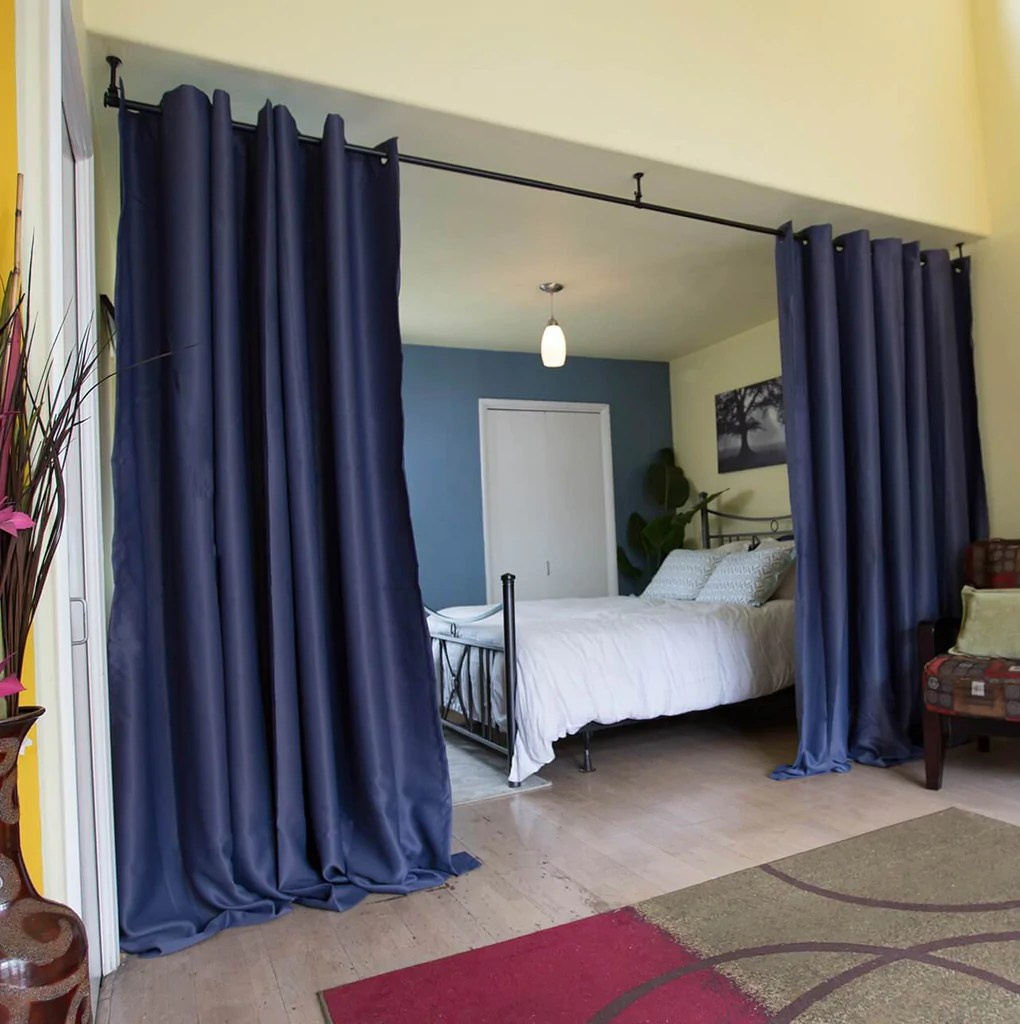 hanging curtain room dividers