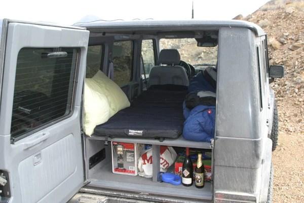 kitchen cart with wheels white set rear cargo shelf / sleeping platform for gwagen – g ...