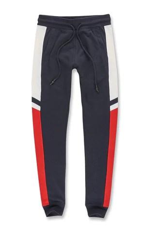 Jordan craig augusta track pants navy also men   leading premium denim rh jordancraig