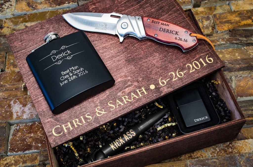 groomsman gifts personalized best