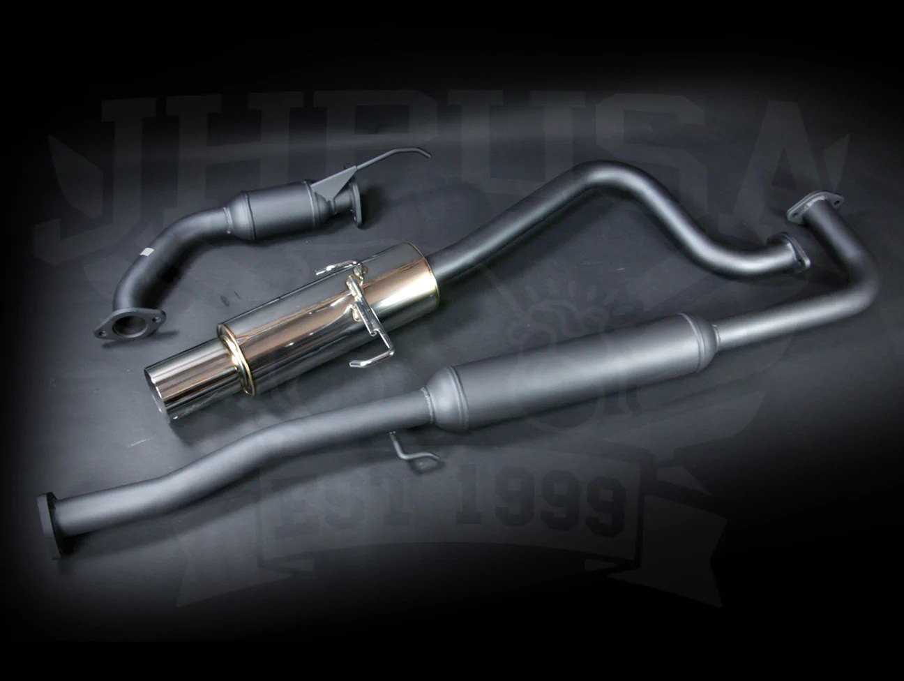 hks hi power exhaust system 2 0 02 04 rsx type s