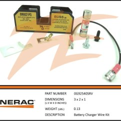 Generac Whole House Generator Wiring Diagram Bmw X5 Audio 0g92540srv Battery Charger Kit – Ziller Electric