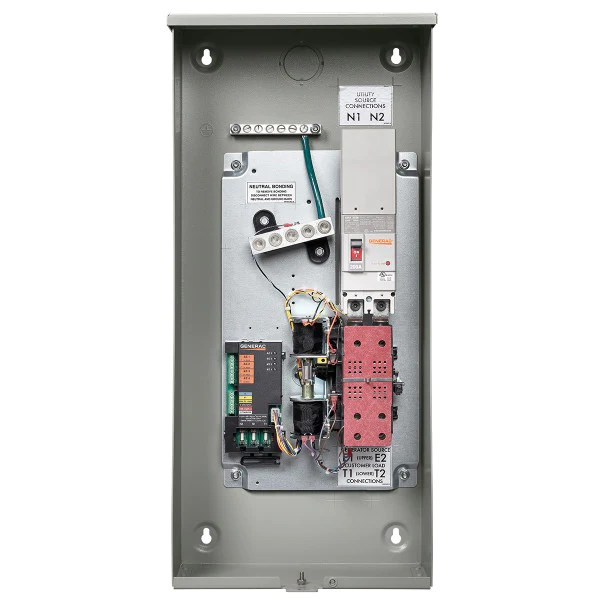 Generac RXSW200A3 200 Amp Service Rated Automatic Transfer Switch – Ziller Electric