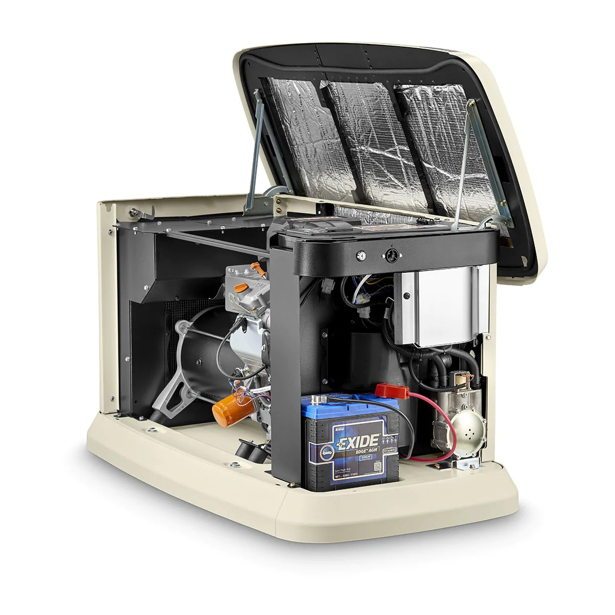 10kw Standby Generator Wiring Diagram Generac Guardian 7042 22kw Aluminum Automatic Standby