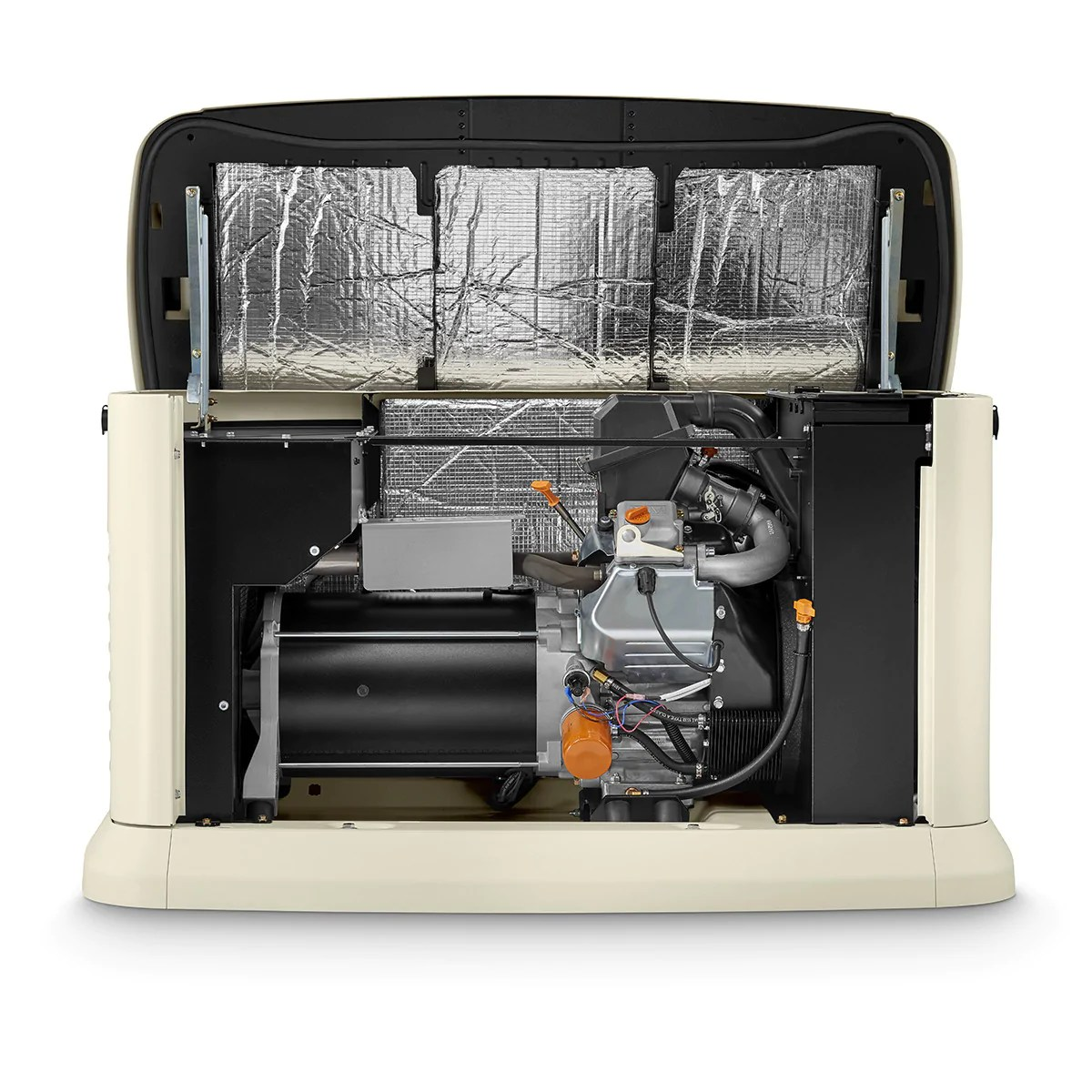 generac guardian 7042 22kw aluminum automatic standby generator [ 1200 x 1200 Pixel ]