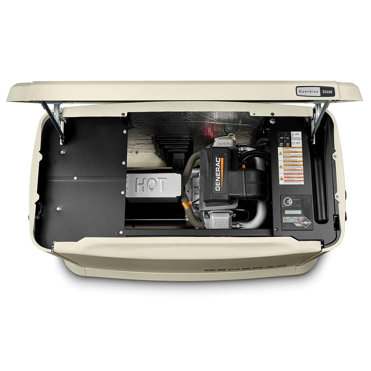hight resolution of generac guardian 7042 22kw aluminum automatic standby generator