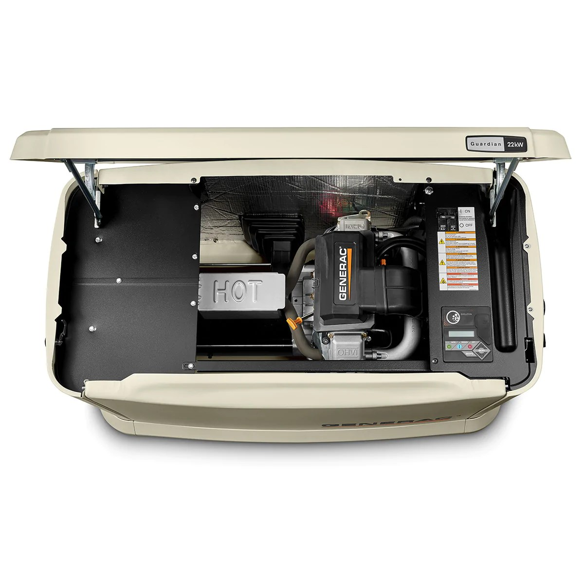 small resolution of generac guardian 7042 22kw aluminum automatic standby generator
