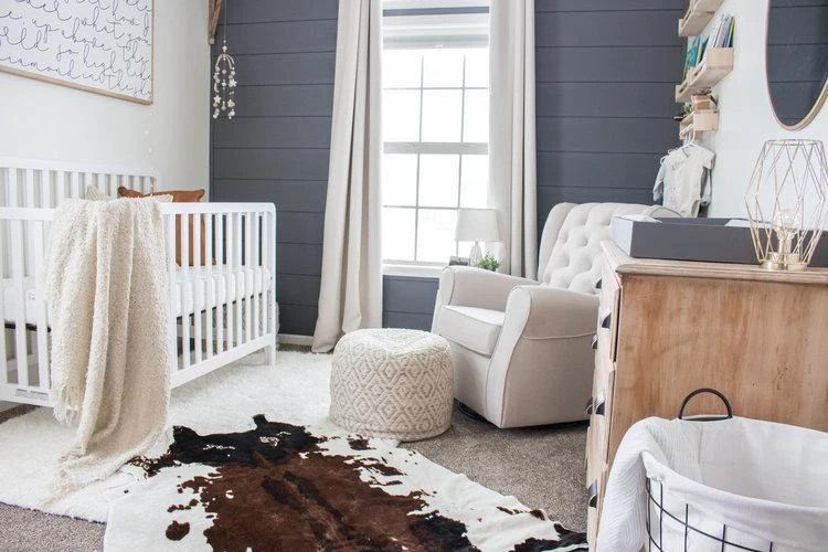 Modern Farmhouse Baby Boys Nursery Reveal  DaVinci Baby