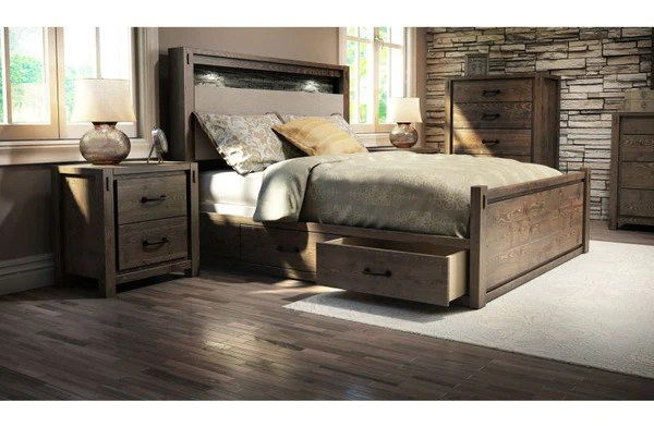 living room furniture clearance sale color ideas for blue stockton queen/king platform bed drawer kit – arctic home ...