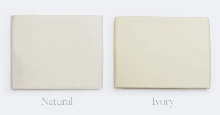 The difference between ivory and natural cotton bed sheets also vs color different shades of white boll  branch rh bollandbranch