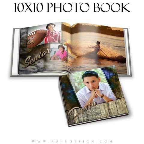 senior photo books ashedesign