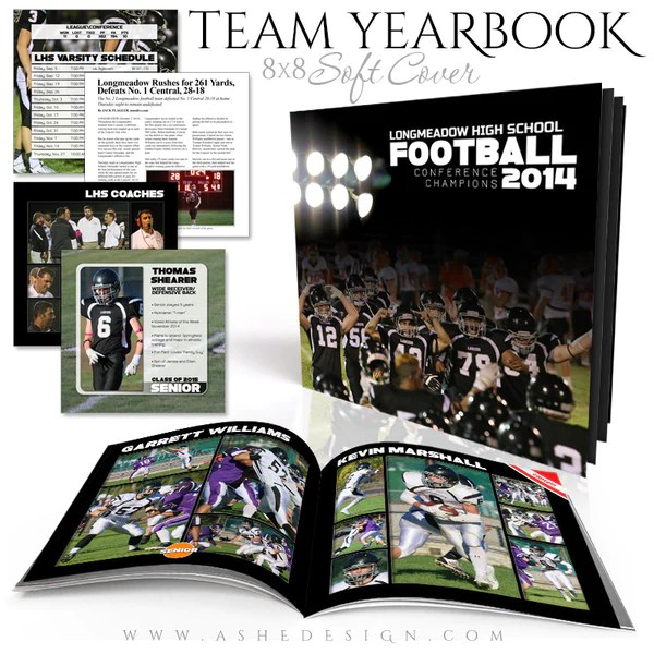 Sports 8x8 Soft Cover Photo Book  Simply Sports Yearbook