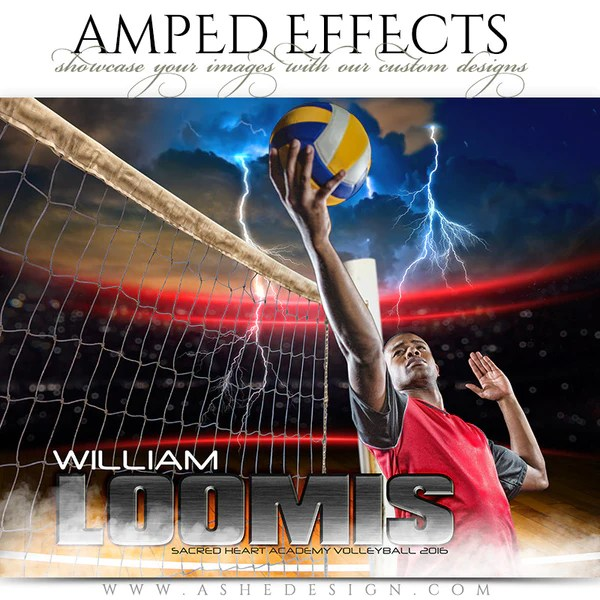 Ashe Design Amped Effects Photoshop Templates Sports