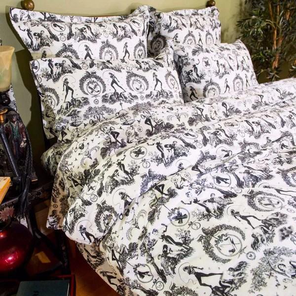 Bed Sheet Sets  Fetish al Fresco Toile Print Bedding