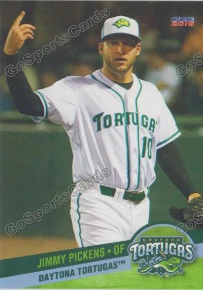 Tugas Pitcher : tugas, pitcher, Daytona, Tortugas, Jimmy, Pickens, Sports, Cards