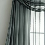 Olive Charcoal Extra Long Window Scarf Valance Or Sheer Curtains Warmhomedesigns Com
