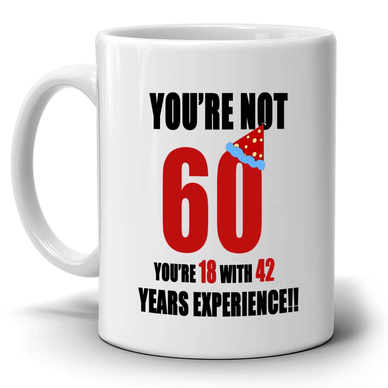 Happy 60th Birthday Gifts For Dad Papa Grandpa Coffee Mug