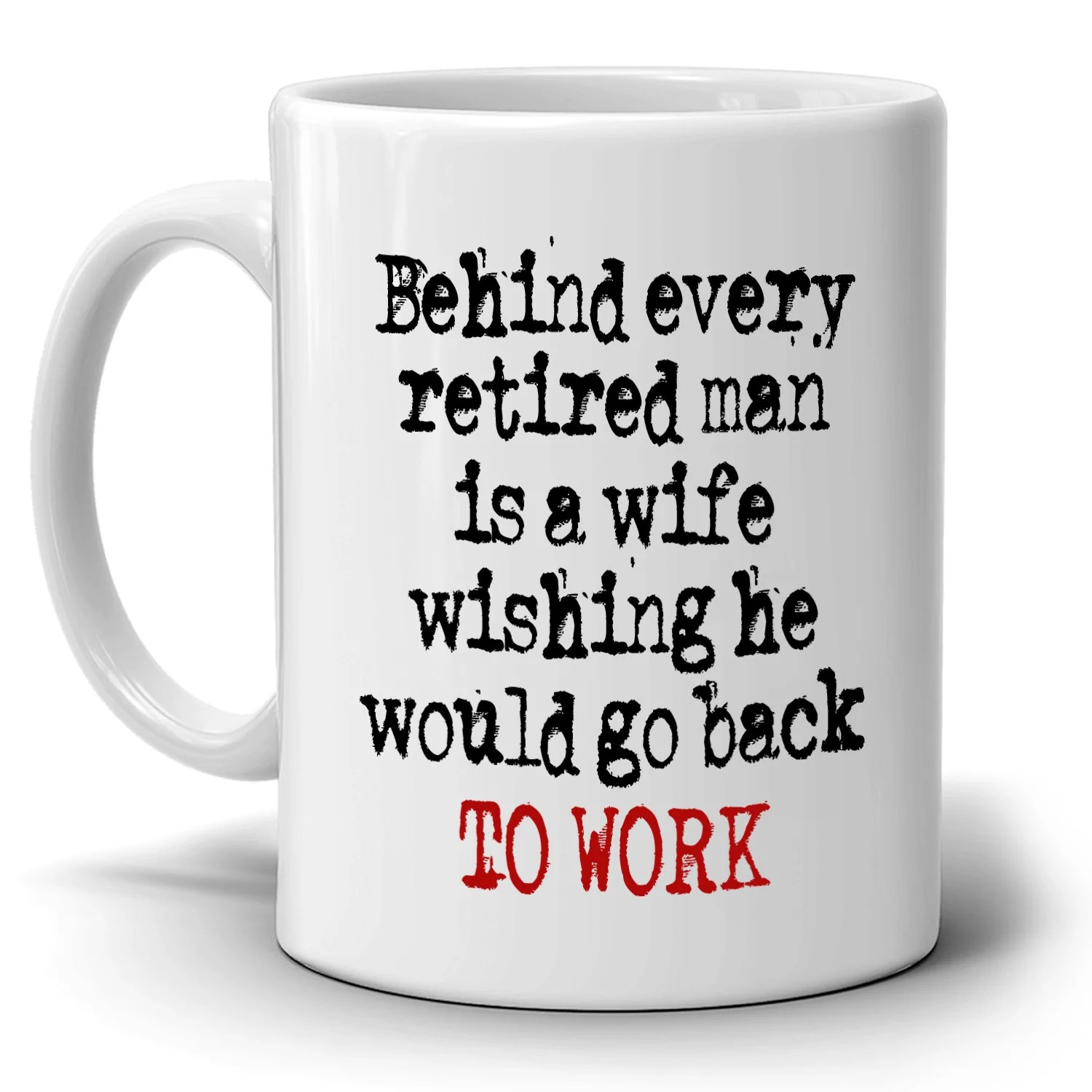 Funny Retired Husband And Wife Retirement Gifts Couples