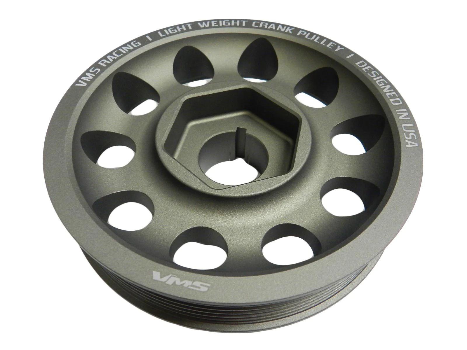 02 04 acura rsx type s light weight oem size aluminum crankshaft crank pulley  [ 1600 x 1200 Pixel ]