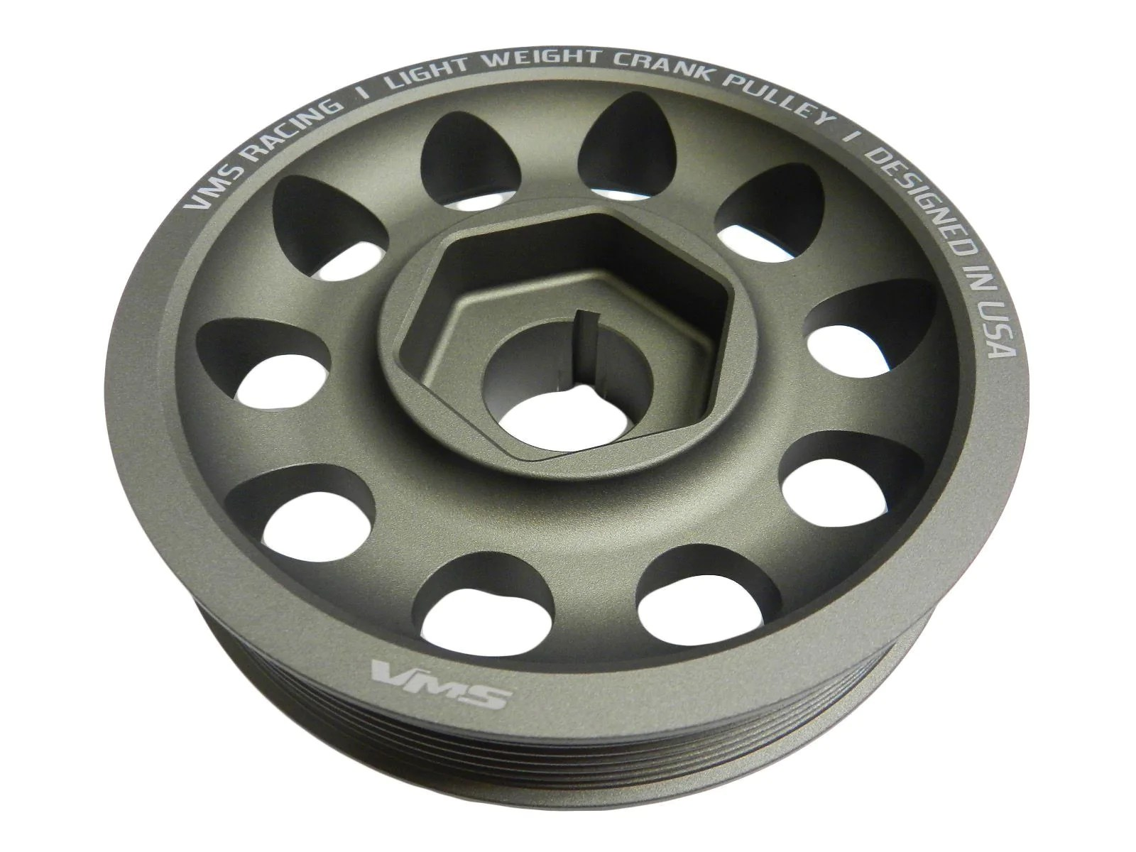 small resolution of 02 04 acura rsx type s light weight oem size aluminum crankshaft crank pulley