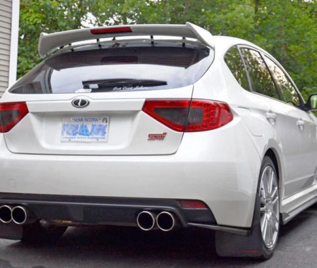 Subaru Impreza Hatchback Wrx Sti Rear Wing Spoiler Lip Riser