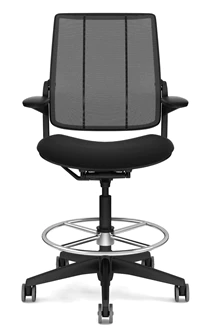 diffrient smart chair chippendale baby high cylinder stand while working
