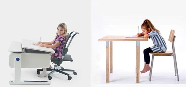 The benefits of ergonomic furniture for children  ergokid