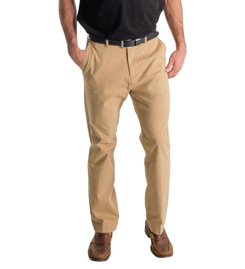 Men' Khaki Beach Pants - Coast Apparel