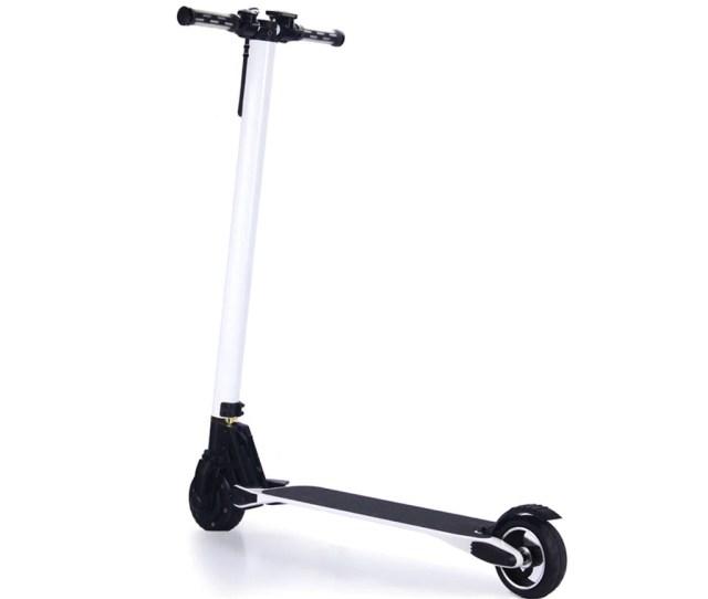 The Lightest 2 Wheel Foldable Carbon Fiber Electric Scooter Smart Hoverboards