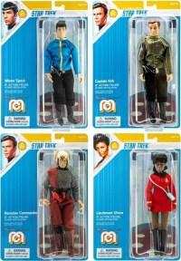 Mego Star Trek Spock, Kirk, Uhura & Romulan Commander Set ...