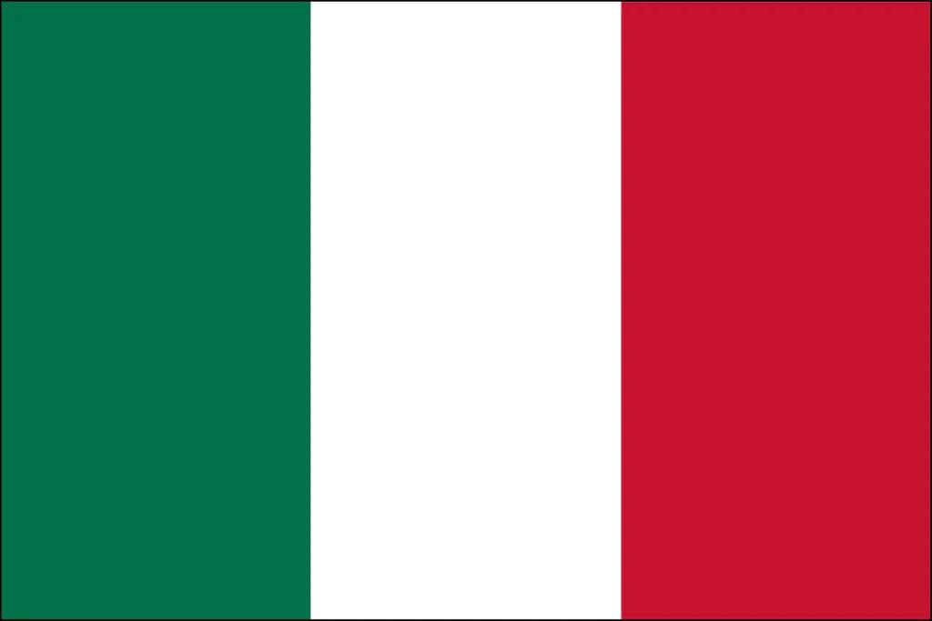 Italian Flag Pinnacle Flags
