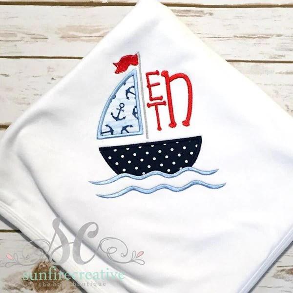 baby boy blanket personalized