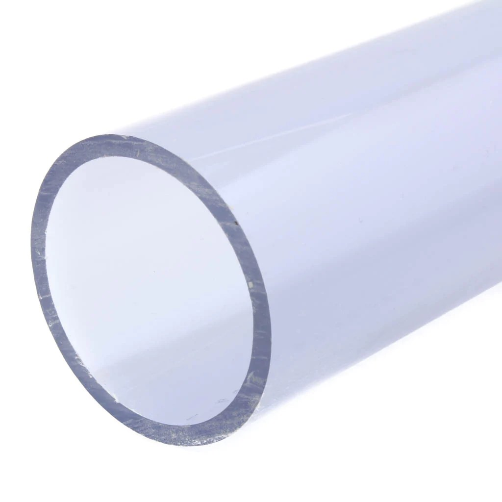 Clear PVC Pipe, 5 Ft – Savko Plastic Pipe & Fittings