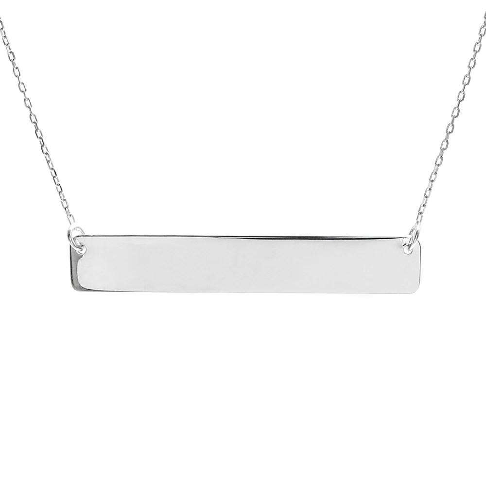 elegant sterling silver engravable