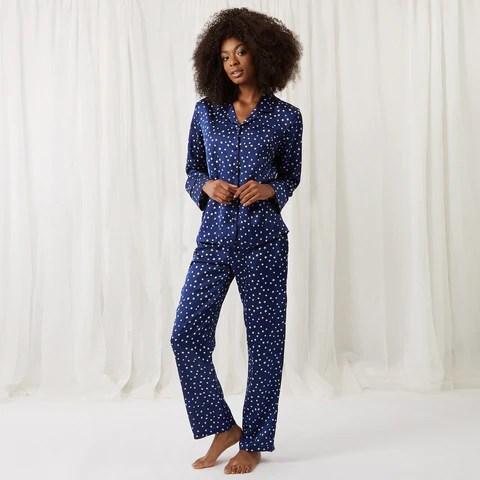 Celeste Shirt and Trouser Set Blue