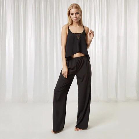 Meena Crop Cami and Trouser Set